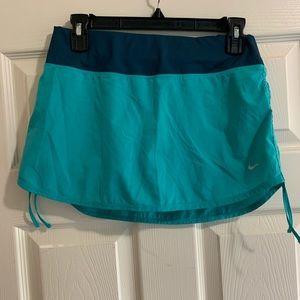 Nike blue athletic tennis golf skirt